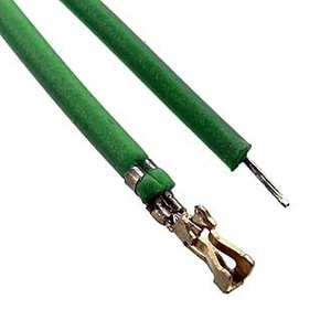BLS2 2,00 mm AWG26 0,3m green Разъем