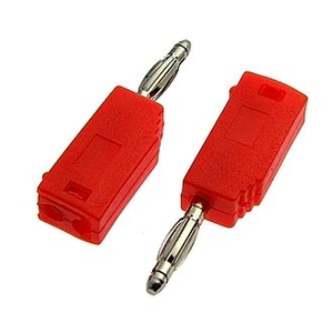 ZP-027 2mm Stackable Plug RED Клемма