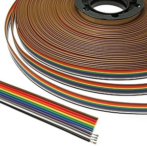RC-10 Color 22AWG Cu pitch 1.7 mm Шлейф