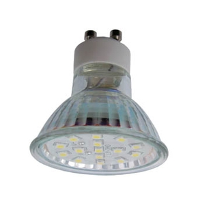 Ecola Light Reflector GU10  LED  3W 220V GU10 2800K прозрачное стекло 53x50