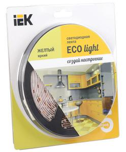 Лента LED 5м  блистер LSR-3528Y60-4.8-IP20-12V IEK-eco