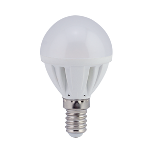 Ecola Light Globe  LED  5,0W G45  220V E14 2700K шар 77x45
